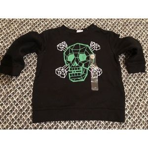 Cute Skull kiddie 👶 sweatshirt